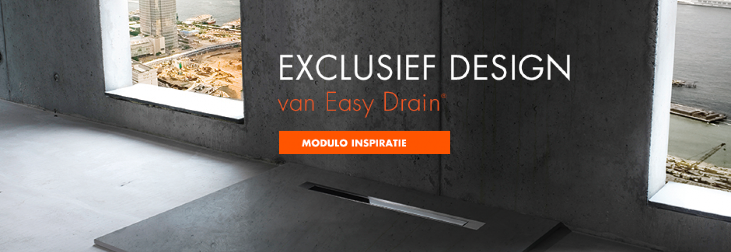 Douchegoot Easy Drain Modulo Design